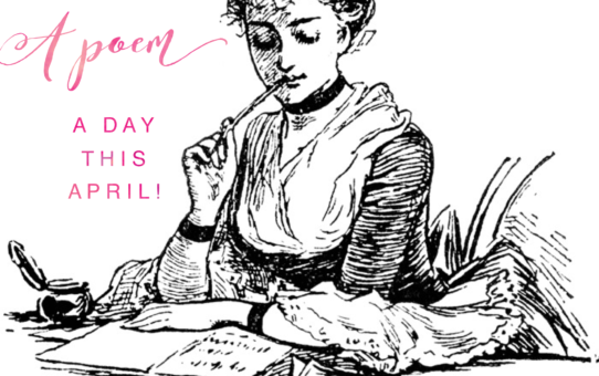 Write a poem a day this April!