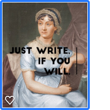 Just write, if you will.